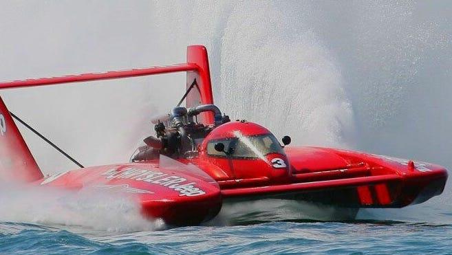 U-3 Go3 Racing boat