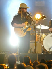Chris Stapleton performs during the 52nd Academy of