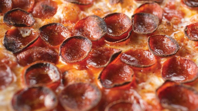 Pepperoni pizza at Paulie Gee's