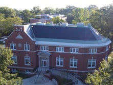 Drone shares Earlham view with world