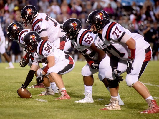 Parkway's Anthony Jones (55) has consistently opened