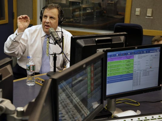Chris Christie on radio