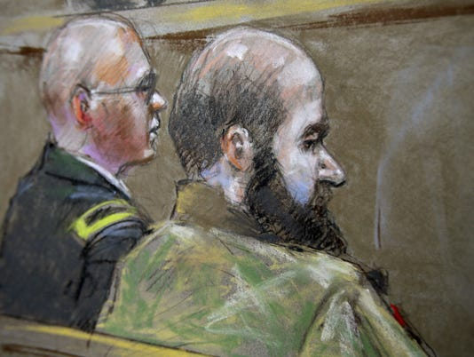 Jury in Fort Hood massacre trial ends first day deliberations