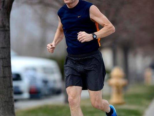 co-lead, Gary running