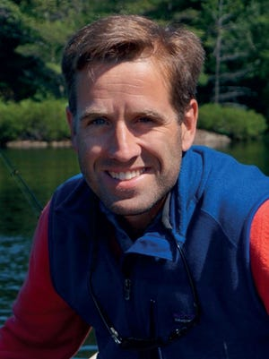 Beau Biden pictured on his funeral program.