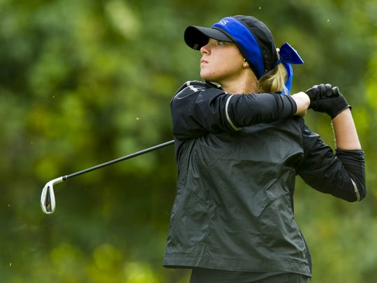 Girls golf: Columbus North's Holly Anderson