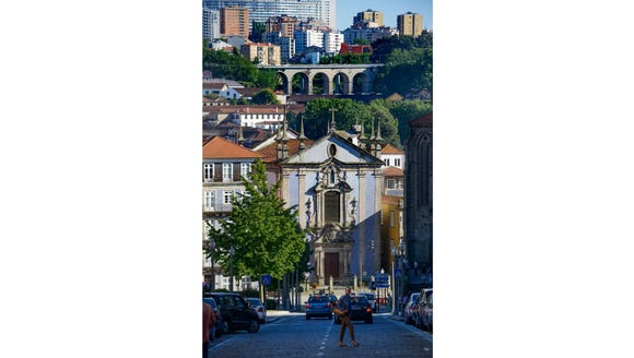 Porto is a very hilly yet walkable town.