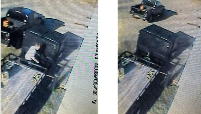 Hendersonville police are looking for the man they say stole a trailer from an area business.