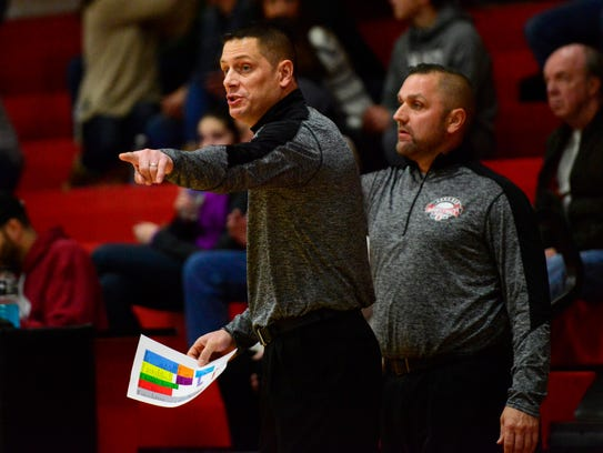 Bellevue's Kory Santoro earned coach of the year status in Division II from the OHSBCA.