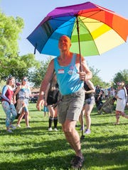St. George residents hold a Pride Celebration at Vernon