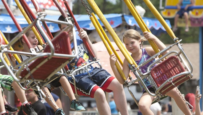 A scene from the Ocean County Fair at Robert J. Miller Airpark in Berkeley one year ago on July 12, 2015.