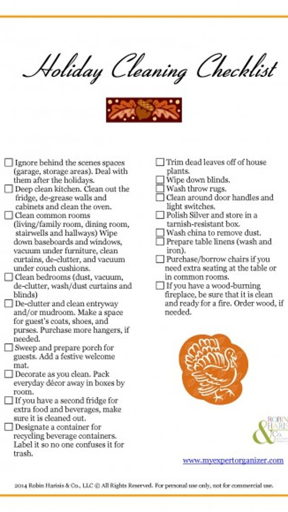 Holiday Cleaning Checklist-page-001