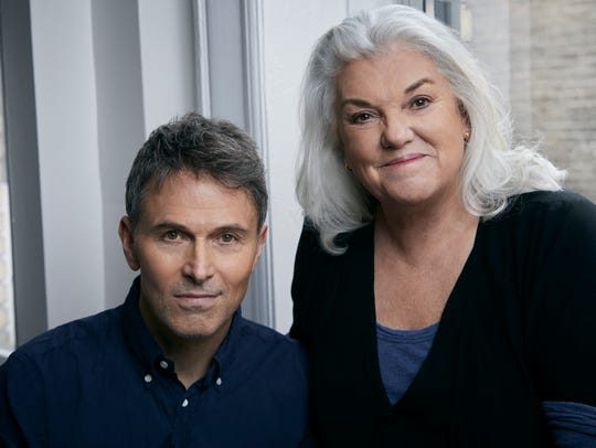 """Tim and Tyne Daly star in """"Downstairs"""" through July"""