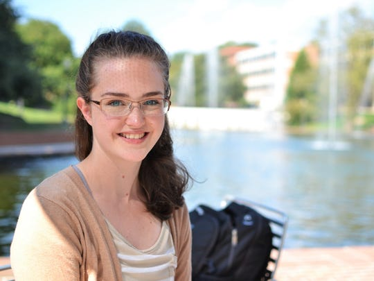 Emma Lane McGahey, 18, grew up in Anderson. She's studying engineering at Clemson University, with a focus in biomaterials and biomedicine, and plans to be an oncological neurosurgeon in the future.