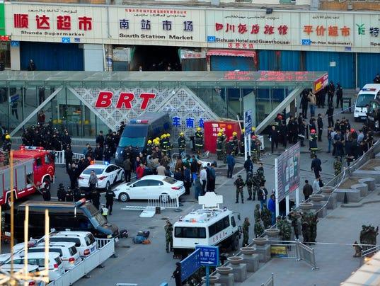 CHINA URUMQI BOMBING