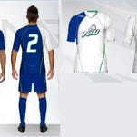FGCU men's soccer new uniforms from Inaria