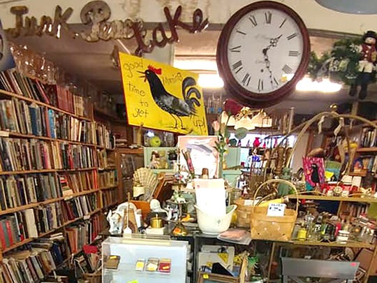 You never know what you'll find in Buried Treasures Antiques, Furniture & Gifts in Fairview.