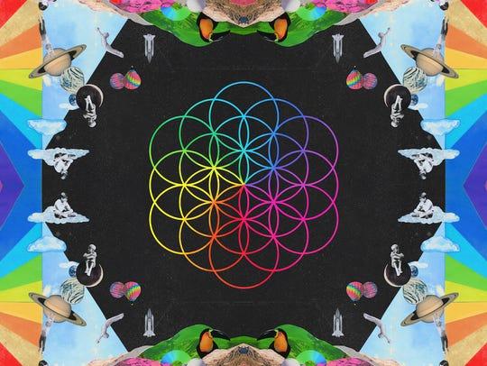 Coldplay's seventh album, 'A Head Full Of Dreams,'