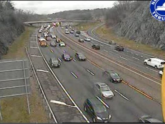 Traffic: Accidents slow I-87, 287