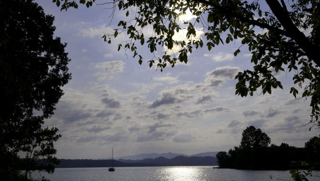 Motels are filling up with people coming to watch the eclipse Aug 21. Scenic locations like this boat ramp area on Tellico Lake abound in East Tennessee for people to watch the total eclipse Wednesday, Aug. 9, 2017.