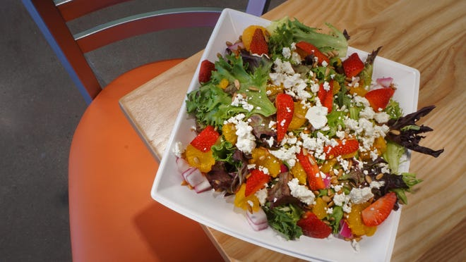 Saladworks is a new restaurant in Providence where diners create their own salad bowls from a choice of more than 60 fresh ingredients.