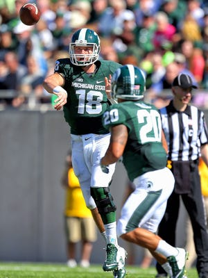 Michigan State Spartans quarterback Connor Cook is a big part of the Spartans' success.