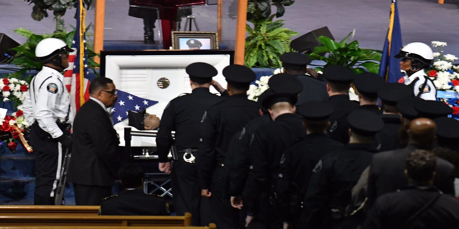 Fallen Officer Mourned It Was An Honor To Be His Dad