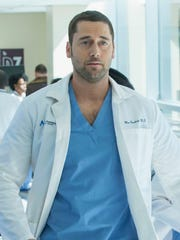 "Ryan Eggold stars in NBC's ""New Amsterdam"" as Dr. Max Goodwin, a new medical director who tries to change an underfunded hospital."