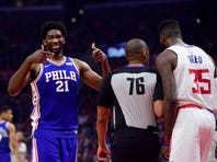 Joel Embiid trolled the Clippers for entire game