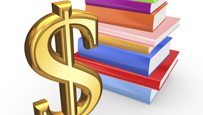 The property tax levy could drop for the academic year.