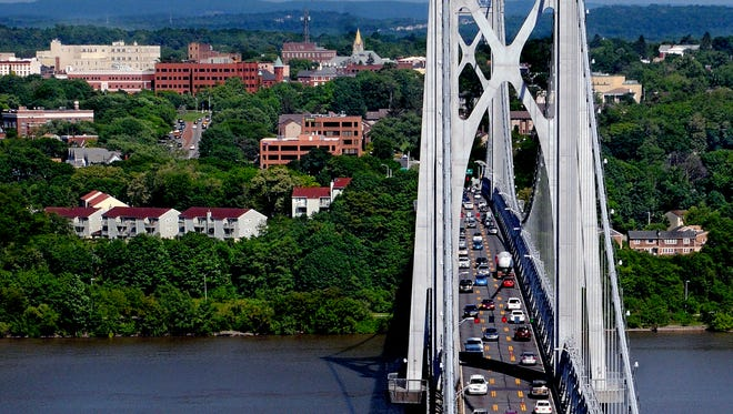 The Mid-Hudson Bridge is seen in this file photo.