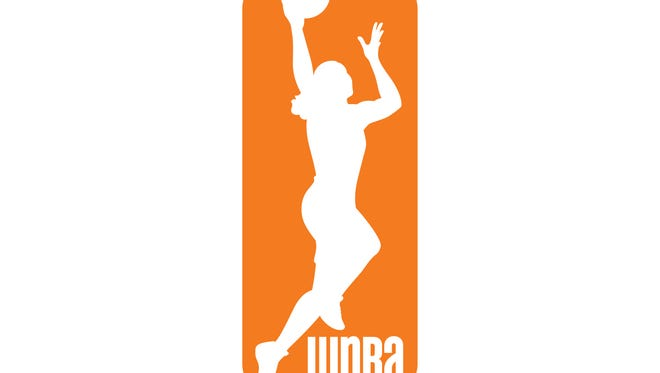 WNBA logo.