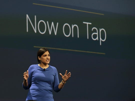 Aparna Chennapragada, director at Google Now, speaks