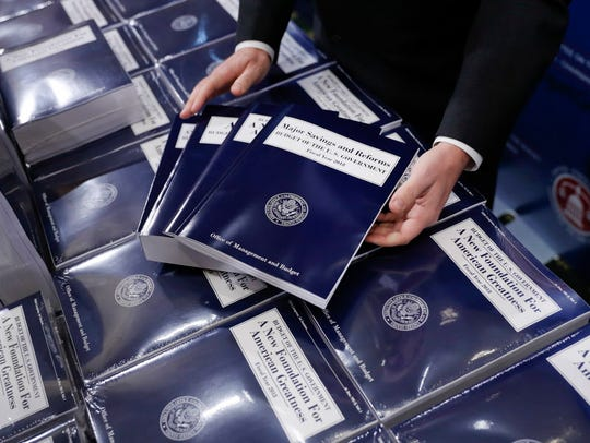 President Donald Trump will submit his third budget to Congress on Monday.