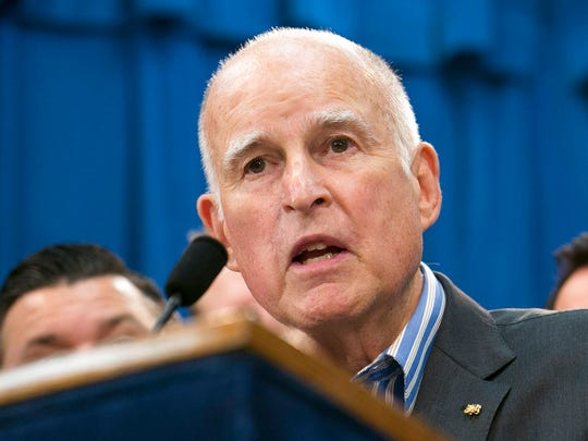 Former California Gov. Jerry Brown.