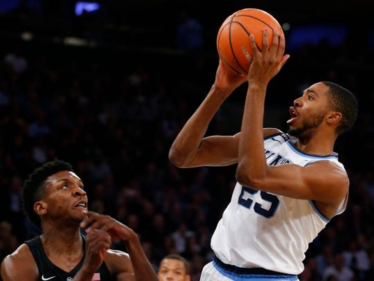 Villanova small forward Mikal Bridges is a potential