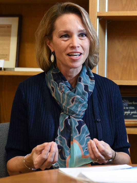 Augustana University President Stephanie Herseth Sandlin