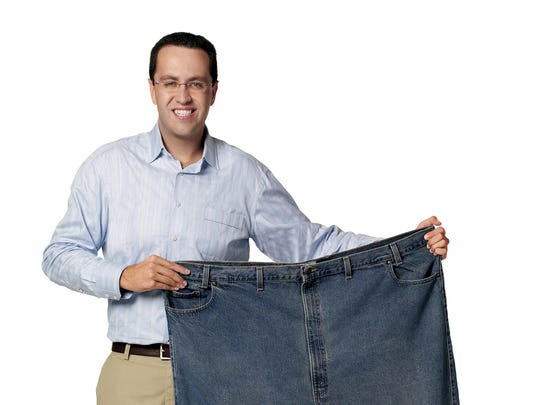 Jared Fogle, known for the Subway diet, brought his