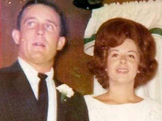 Donald and Sue Foshee anniversary