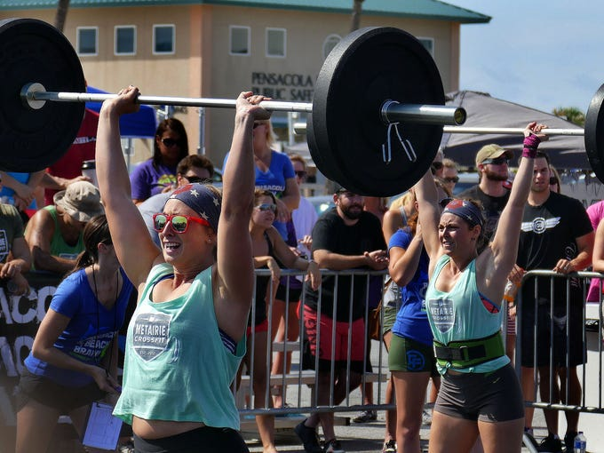 Pensacola Beach Brawl Physical Fitness Compeion Saay