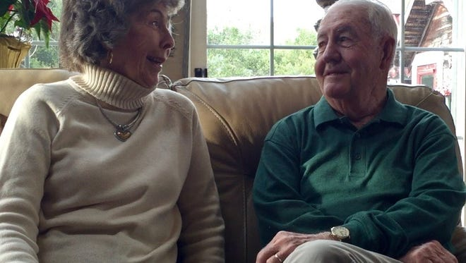 The Conklins of Chincoteague, Va worked at the same movie theater as teenagers and became close friends. 66 years later and they're still friends, today.