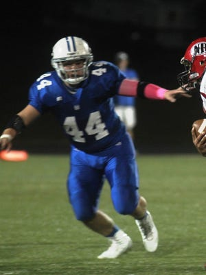 Hunter Ruber is one of Walton-Verona's top players on both sides of the ball.