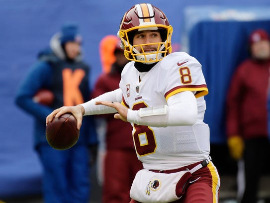 Kirk Cousins is a free agent.
