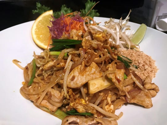Authentic Thai dishes are a specialty at Mojo Thai