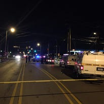 A man was reportedly shot at 21st Street and Arlington Avenue Thursday night.