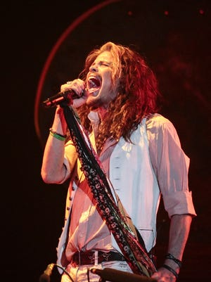 Steven Tyler performs for fans at the Comerica Theatre on July 20, 2016.