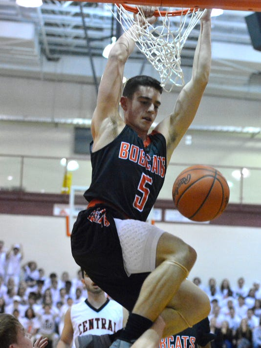 Northeastern vs Central York boys' basketball