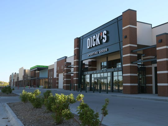 Dick's Sporting Goods opened in 2013 in The Plaza at Jordan Creek development in West Des Moines. Developer Richard Hurd plans another retail center on the remaining five acres to the north.
