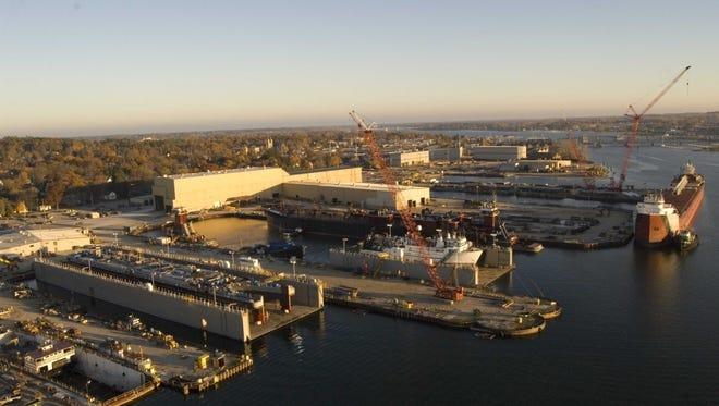 Fincantieri Bay Shipbuilding Co. in Sturgeon Bay.