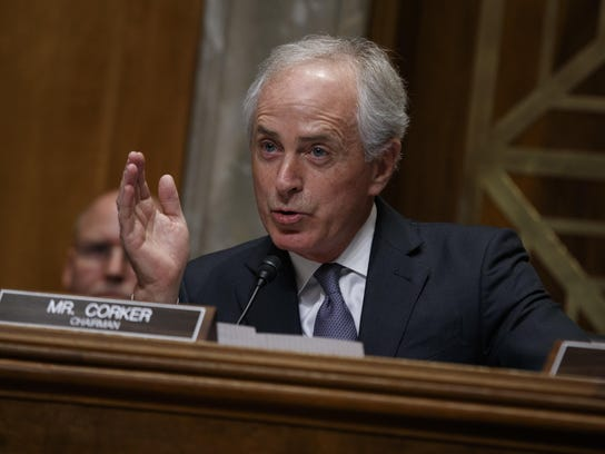 """""""This is a dangerous course and should be abandoned immediately,"""" says Sen. Bob Corker, R-Tenn."""